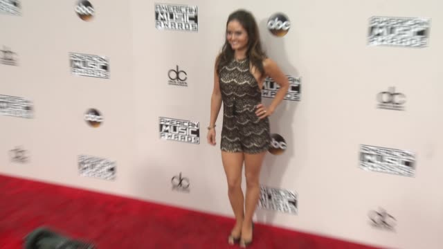 danica mckellar at 2016 american music awards at microsoft theater on november 20 2016 in los angeles california - 2016 american music awards stock videos and b-roll footage