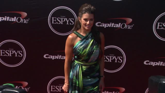 danica patrick at the 2015 espys at microsoft theater on july 15 2015 in los angeles california - microsoft theater los angeles stock videos and b-roll footage