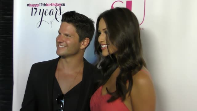 daniel booko and nia sanchez at the 17th anniversary celebration of su magazine at avalon on august 12, 2017 in hollywood, california. - nia sanchez stock videos & royalty-free footage
