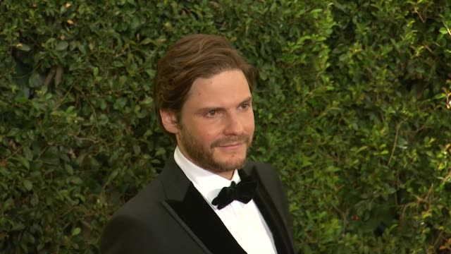 daniel brühl at academy of motion picture arts and sciences' governors awards in hollywood ca on - 映画芸術科学協会点の映像素材/bロール