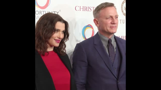 daniel craig and rachel weisz cochair the opportunity network's 11th annual night of opportunity gala - rachel weisz stock videos & royalty-free footage