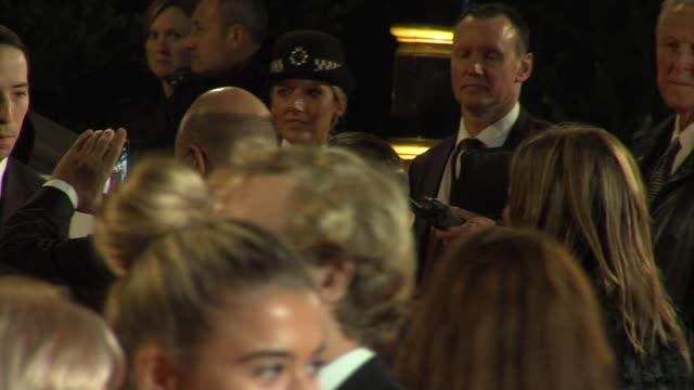 daniel craig at 'skyfall' royal world premiere at royal albert hall at royal albert hall on october 23 2012 in london - daniel craig stock videos and b-roll footage