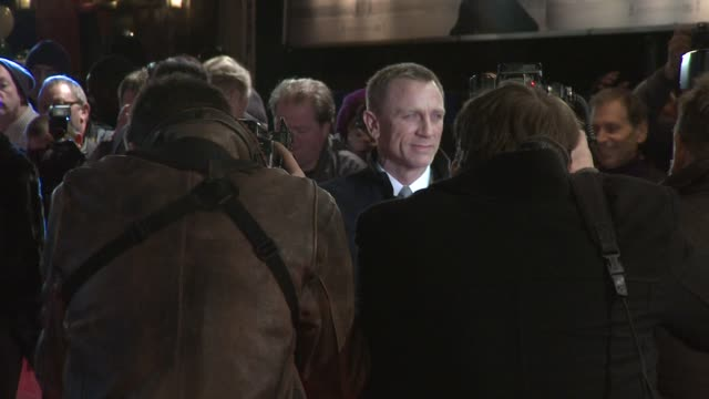 Daniel Craig at The Girl With The Dragon Tattoo World Premiere at Odeon Leicester Square on December 12 2011 in London England