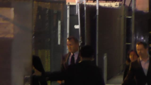 Daniel Craig leaving Jimmy Kimmel Live in Hollywood in Celebrity Sightings in Los Angeles