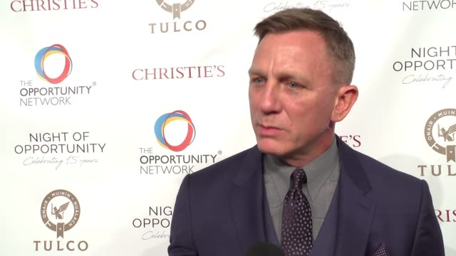 INTERVIEW Daniel Craig on working with The Opportunity Network what he finds most rewarding and why it is so important for the students at Daniel...