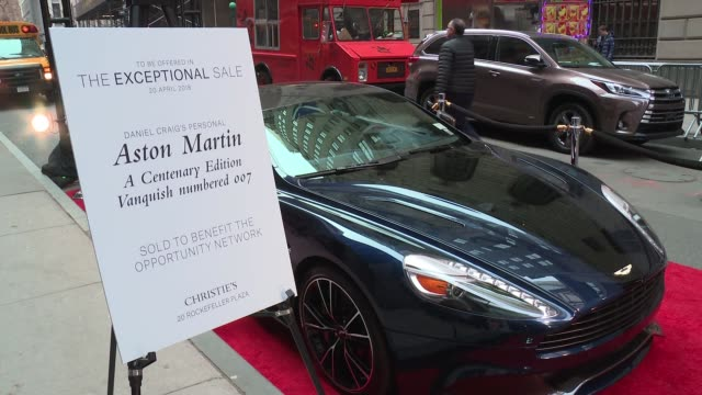 ATMOSPHERE Daniel Craig's personal Aston Martin at Daniel Craig and Rachel Weisz CoChair The Opportunity Network's 11th Annual Night of Opportunity...