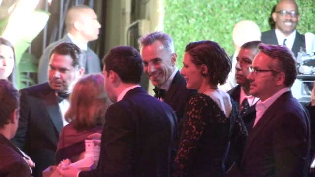 Daniel DayLewis Rebecca Miller arrive at the 2013 Vanity Fair Oscar Party in West Hollywood 02/24/13