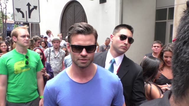 Daniel Gillies at ComicCon Celebrity Sightings on July 10 2015 in San Diego California