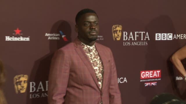 daniel kaluuya at 2018 bafta los angeles tea party the four seasons los angeles at beverly hills in los angeles ca - daniel kaluuya stock videos and b-roll footage