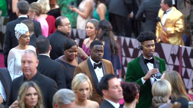 daniel kaluuya at 90th academy awards arrivals alternative views at dolby theatre on march 04 2018 in hollywood california - daniel kaluuya stock videos and b-roll footage