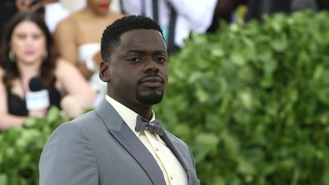 fashion the catholic imagination costume institute gala at the metropolitan museum of art on may 07 2018 in new york city - daniel kaluuya stock videos and b-roll footage