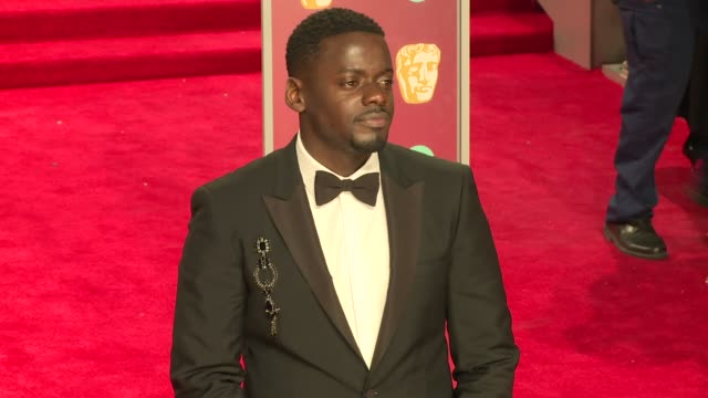 Daniel Kaluuya at Royal Albert Hall on February 18 2018 in London England