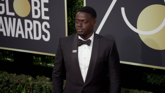 daniel kaluuya at the 75th annual golden globe awards at the beverly hilton hotel on january 07 2018 in beverly hills california - daniel kaluuya stock videos and b-roll footage