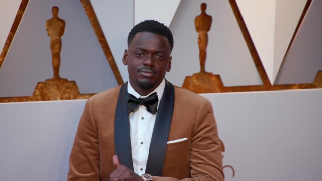 Daniel Kaluuya at the 90th Academy Awards Arrivals at Dolby Theatre on March 04 2018 in Hollywood California