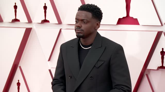 stockvideo's en b-roll-footage met daniel kaluuya at the 93rd annual academy awards - arrivals on april 25, 2021. - academy awards