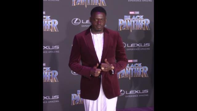 GIF Daniel Kaluuya at the Marvel Studios' 'Black Panther' World Premiere