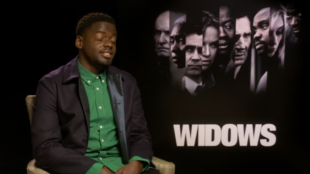 interview daniel kaluuya on wanting to work with steve mcqueen at 'widows' interviews 62nd bfi london film festival on october 11 2018 in london... - daniel kaluuya stock videos and b-roll footage