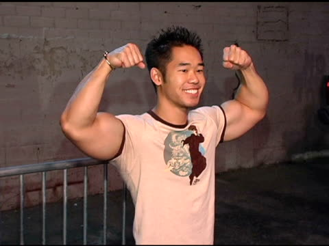 daniel lue at the 'reality unleashed' dvd release at the pearl in los angeles california on october 5 2004 - daniel pearl stock videos & royalty-free footage