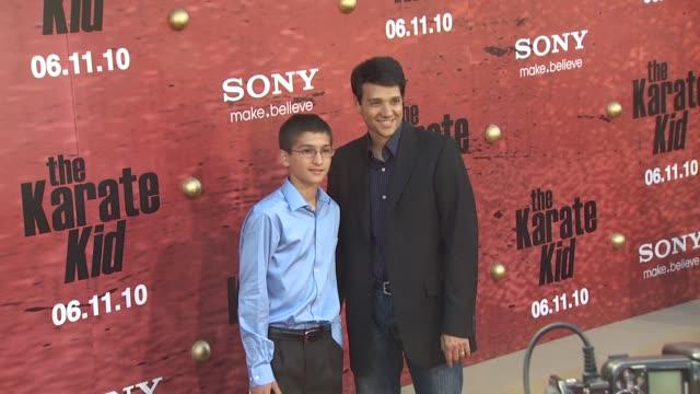Daniel Macchio Ralph Macchio at the 'The Karate Kid' Premiere at Westwood CA