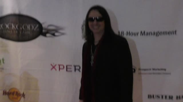 daniel margasa at the 5th annual rock godz hall of fame awards at hard rock cafe on october 26 2017 in hollywood california - hard rock cafe stock videos & royalty-free footage