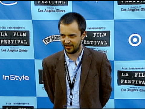 daniel outram at the 'little miss sunshine' premiere at wadsworth theatre in los angeles california on july 2 2006 - wadsworth theatre stock videos & royalty-free footage