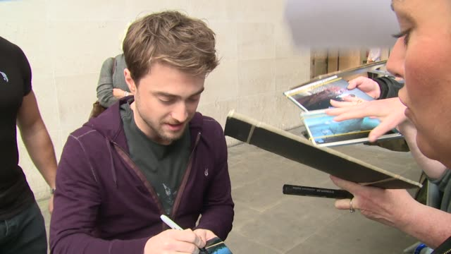 Daniel Radcliffe on September 21 2016 in London England