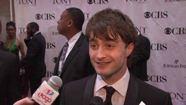 Daniel Radcliffe talks about an awkward handshake he had with someone from the royal family because he'd just cleaned out his ear with his hand On...