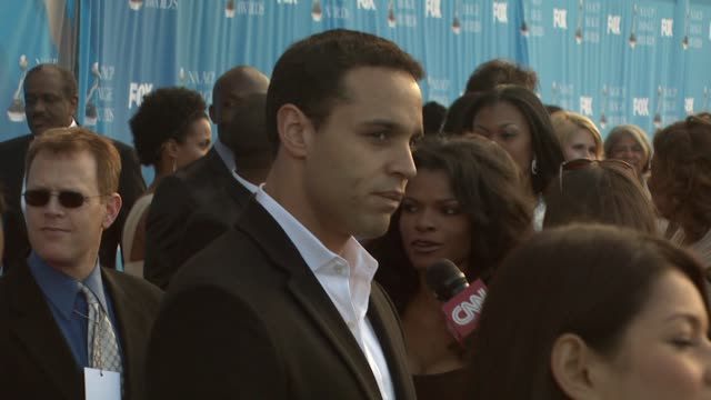 Daniel Sunjata at the 39th Annual NAACP Image Awards at the Shrine Auditorium in Los Angeles California on February 14 2008