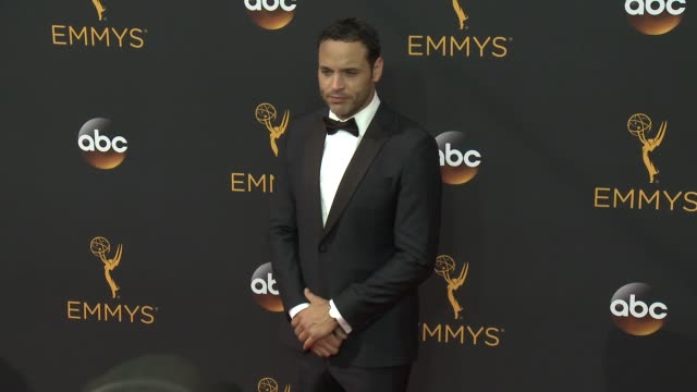 Daniel Sunjata at the 68th Annual Primetime Emmy Awards Arrivals at Microsoft Theater on September 18 2016 in Los Angeles California