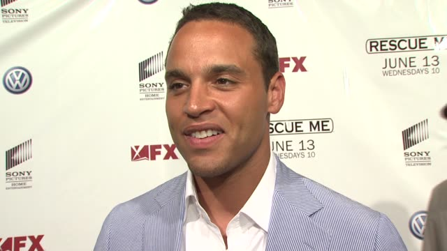 Daniel Sunjata on being excited to be here tonight what we can expect from his character this season what is like working with a cast comprised of...