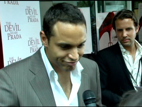Daniel Sunjata on his last name actually being his middle name and being of Malian descent his real last name rhyming with 'Condom' and his character...