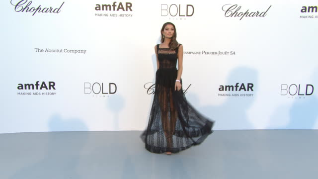Daniela Lopez at amfAR Gala Cannes 2018 on May 17 2018 in Cap d'Antibes France