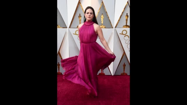 daniela vega attends the 90th annual academy awards at hollywood highland center on march 4 2018 in hollywood california - 90th annual academy awards stock videos & royalty-free footage