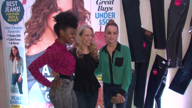daniele watts, susan kaufman, taryn manning at people stylewatch hosts hollywood denim party on 9/20/12 in los angeles, ca - taryn manning stock videos & royalty-free footage