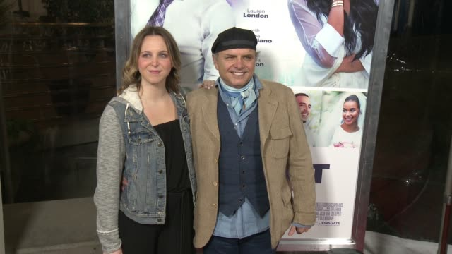 daniella pantoliano and joe pantoliano at the perfect match los angeles premiere at arclight cinemas on march 07 2016 in hollywood california - arclight cinemas hollywood stock videos & royalty-free footage