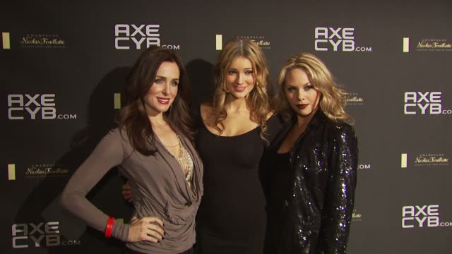 danielle bisutti , kylie bisutti and mason bisutti at the axe cyb party: sundance film festival 2010 at park city ut. - park city stock videos & royalty-free footage