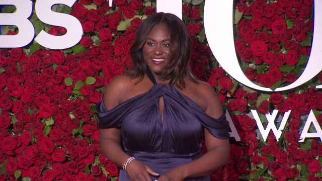danielle brooks at 2016 tony awards red carpetat the beacon theatre on june 12 2016 in new york city - 70th annual tony awards stock videos and b-roll footage