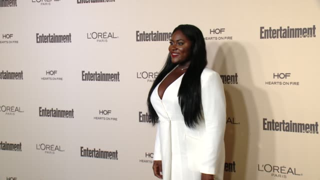 danielle brooks at entertainment weekly's preemmy celebration at fig olive melrose place on september 18 2015 in west hollywood california - entertainment weekly stock videos and b-roll footage