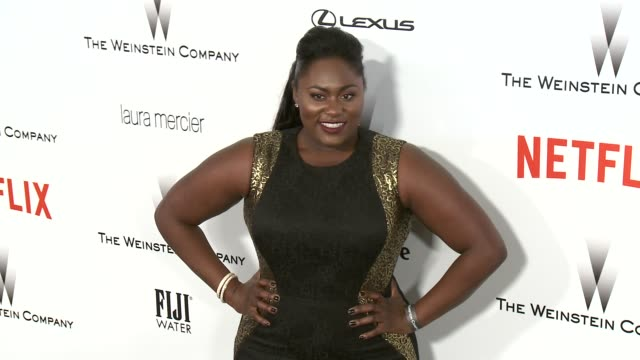Danielle Brooks at the 2015 Weinstein Company And Netflix Golden Globe After Party at Robinsons May Lot on January 11 2015 in Beverly Hills California