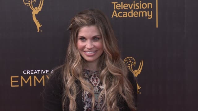 Danielle Fishel at the 2016 Creative Arts Emmy Awards Day 1 Arrivals at Microsoft Theater on September 10 2016 in Los Angeles California