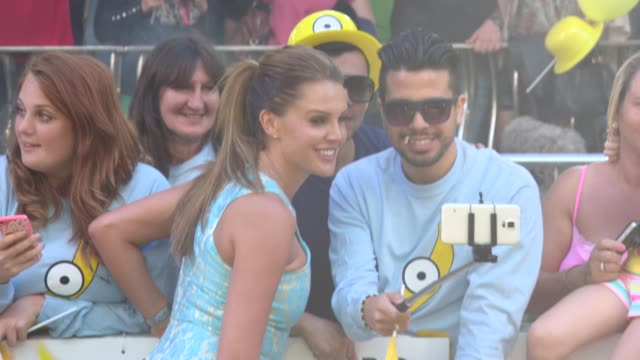 Danielle Lloyd at 'Minions' World Premiere at Odeon Leicester Square on June 11 2015 in London England