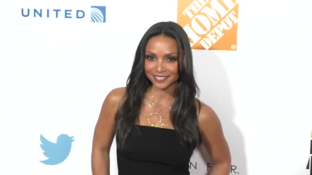 danielle nicolet at the ebony power 100 70th anniversary gala at beverly hilton hotel in beverly hills in celebrity sightings in los angeles, - the beverly hilton hotel stock videos & royalty-free footage
