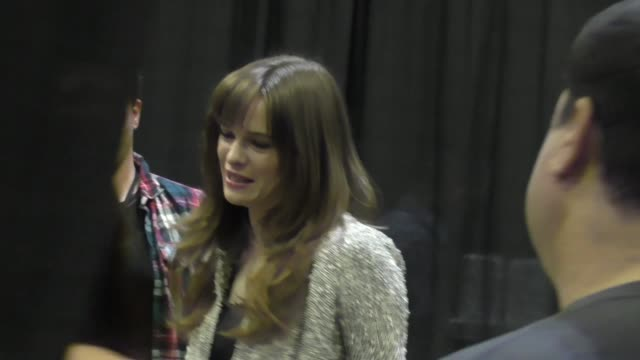 stockvideo's en b-roll-footage met danielle panabaker at comikaze expo at the los angeles convention center at celebrity sightings in los angeles on october 31 2015 in los angeles... - los angeles convention center