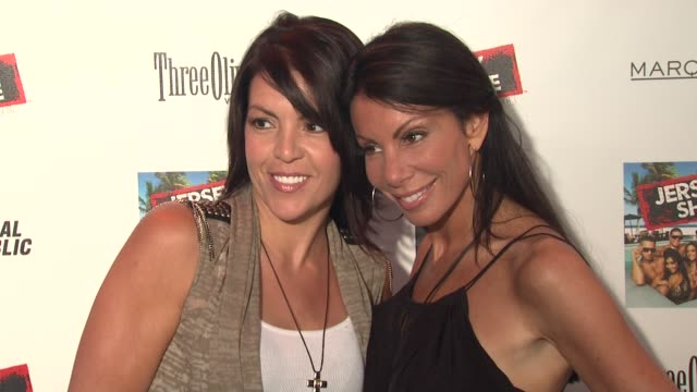 Danielle Staub and Lori Michaels at the 'Jersey Shore' Soundtrack Release Party at New York NY