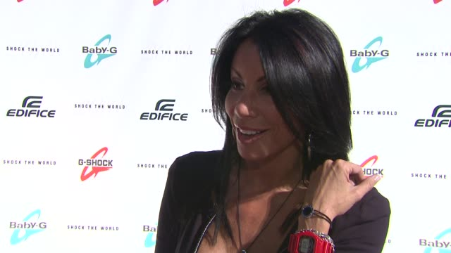 Danielle Staub at the Casio's Shock the World 2010 Featuring Ke$ha at New York NY