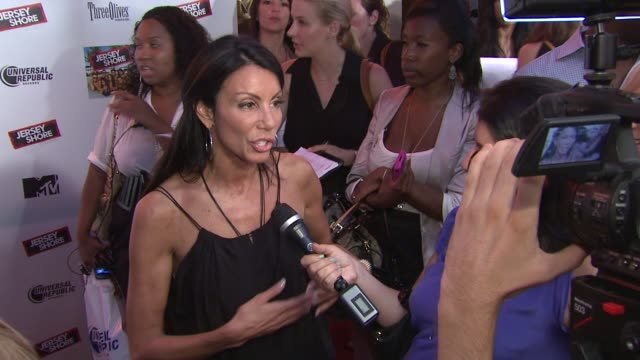 Danielle Staub at the 'Jersey Shore' Soundtrack Release Party at New York NY