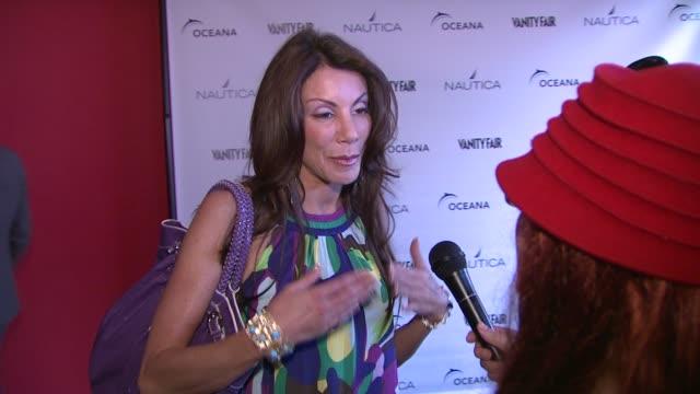 Danielle Staub at the Oceana Nautica Vanity Fair Celebrate World Oceans Day at New York NY