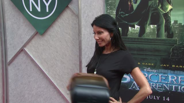 Danielle Staub at the 'The Sorcerer's Apprentice' New York Premiere Arrivals at New York NY