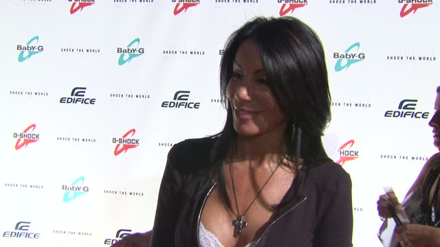 Danielle Staub talks about how excited she is for the GShock event how excited she is for Ke$ha's performance and her new music that is coming out at...