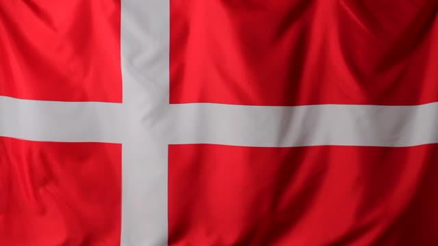 cu danish flag / berlin, germany - danish flag stock videos and b-roll footage